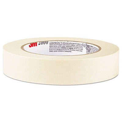 "Economy Masking Tape, 1"" x 60 yards, 3"" Core, Cream"