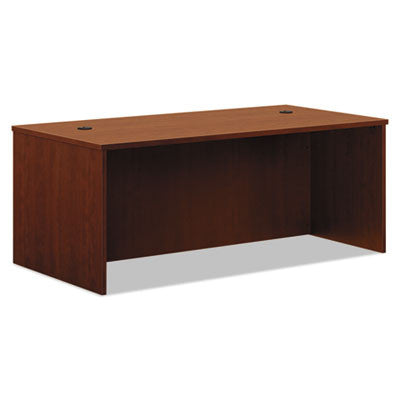 BL Laminate Series Rectangular Desk Shell, 72w x 36w x 29h, Medium Cherry