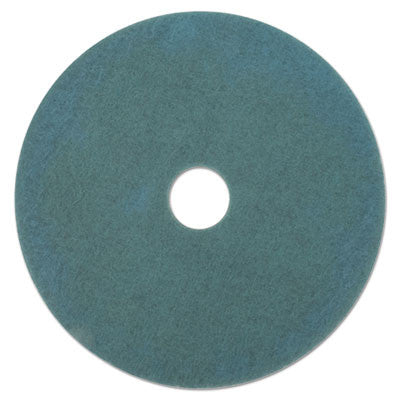 Ultra High-Speed Floor Burnishing Pads 3100, 27.25-Inch, Aqua