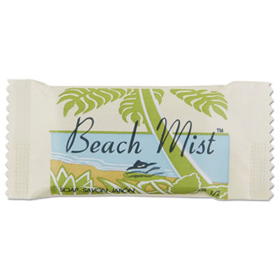 Face and Body Soap, Foil Wrapped, Beach Mist Fragrance, 0.5 oz. Bar