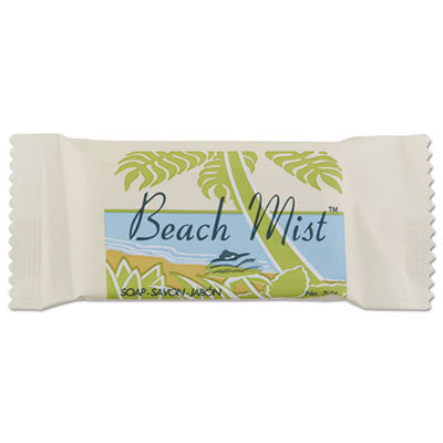 Face and Body Soap, Foil Wrapped, Beach Mist Fragrance, 0.75 oz. Bar
