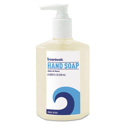 Liquid Hand Soap, Floral, 8 oz Pump Bottle
