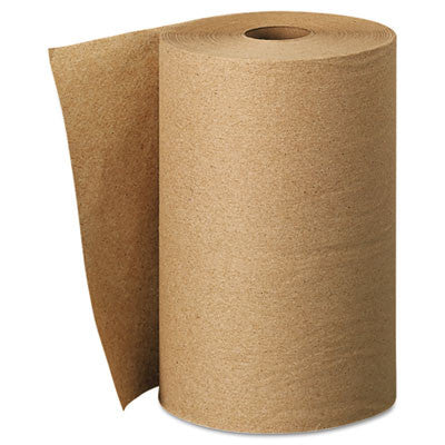 Hard Roll Towels, 8 x 400ft, Natural