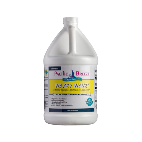 Waxey Wave™ X-TREME Gloss Floor Sealer and Finish - 1 Gallon Bucket