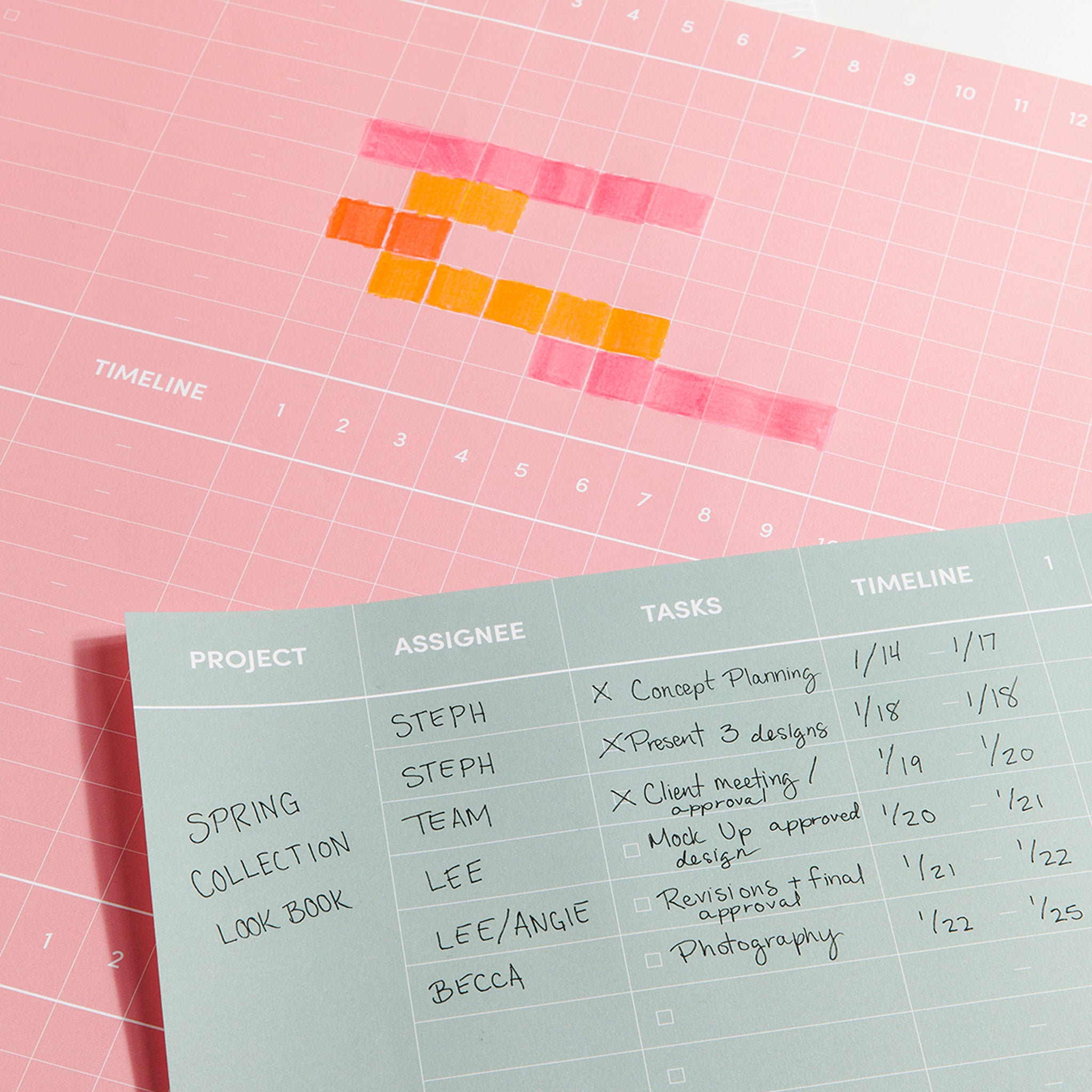 How To Gather Around Our New Project Wall Planner Poketo