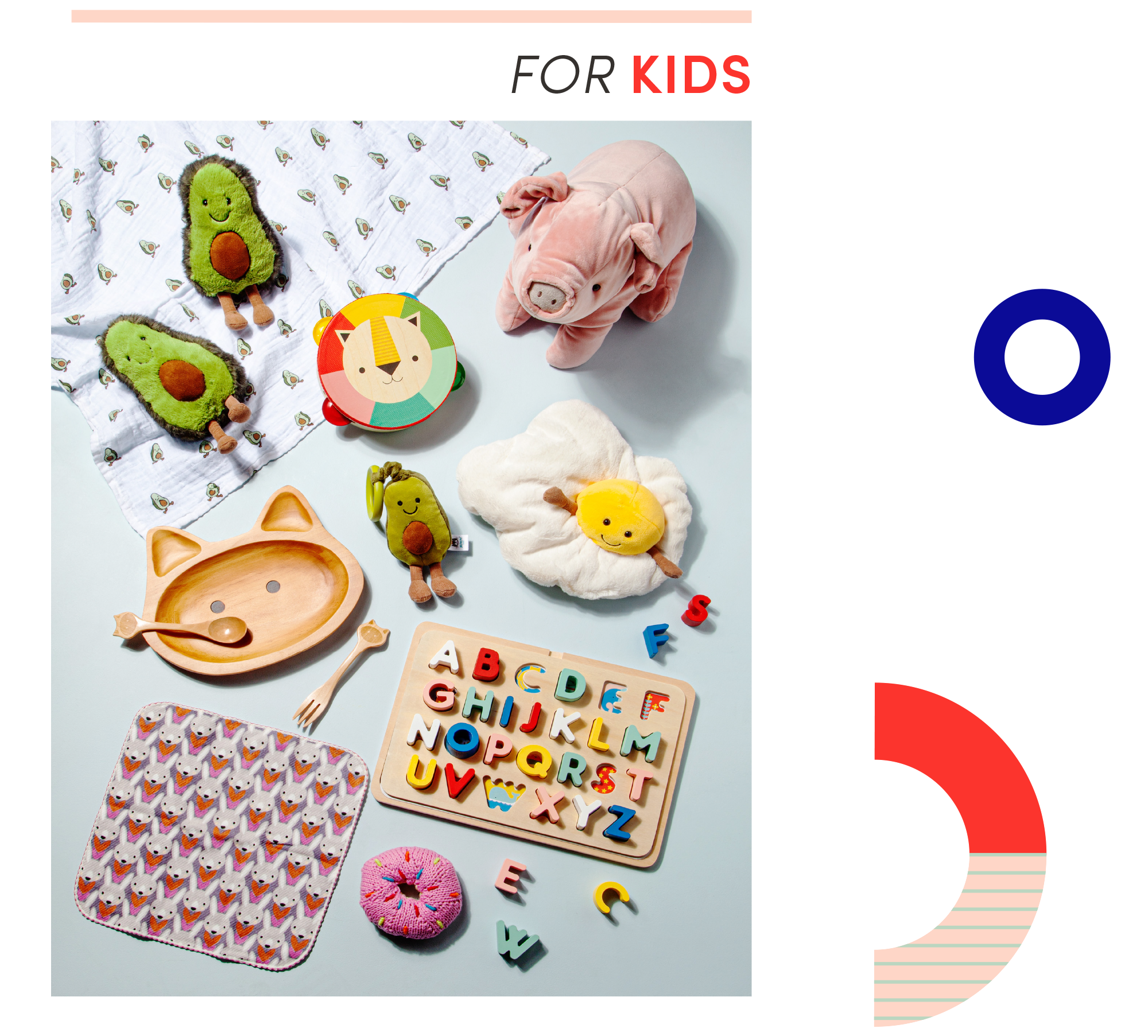 For kids gift guide section