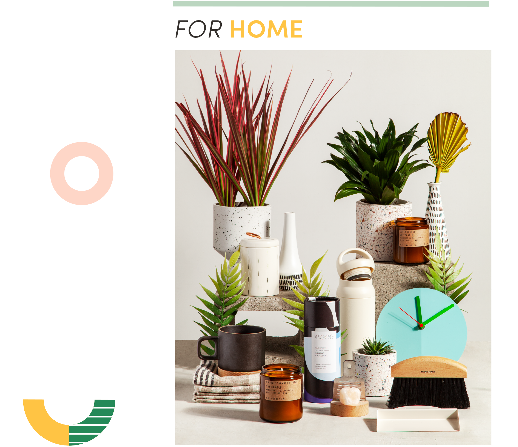 for home gift guide section