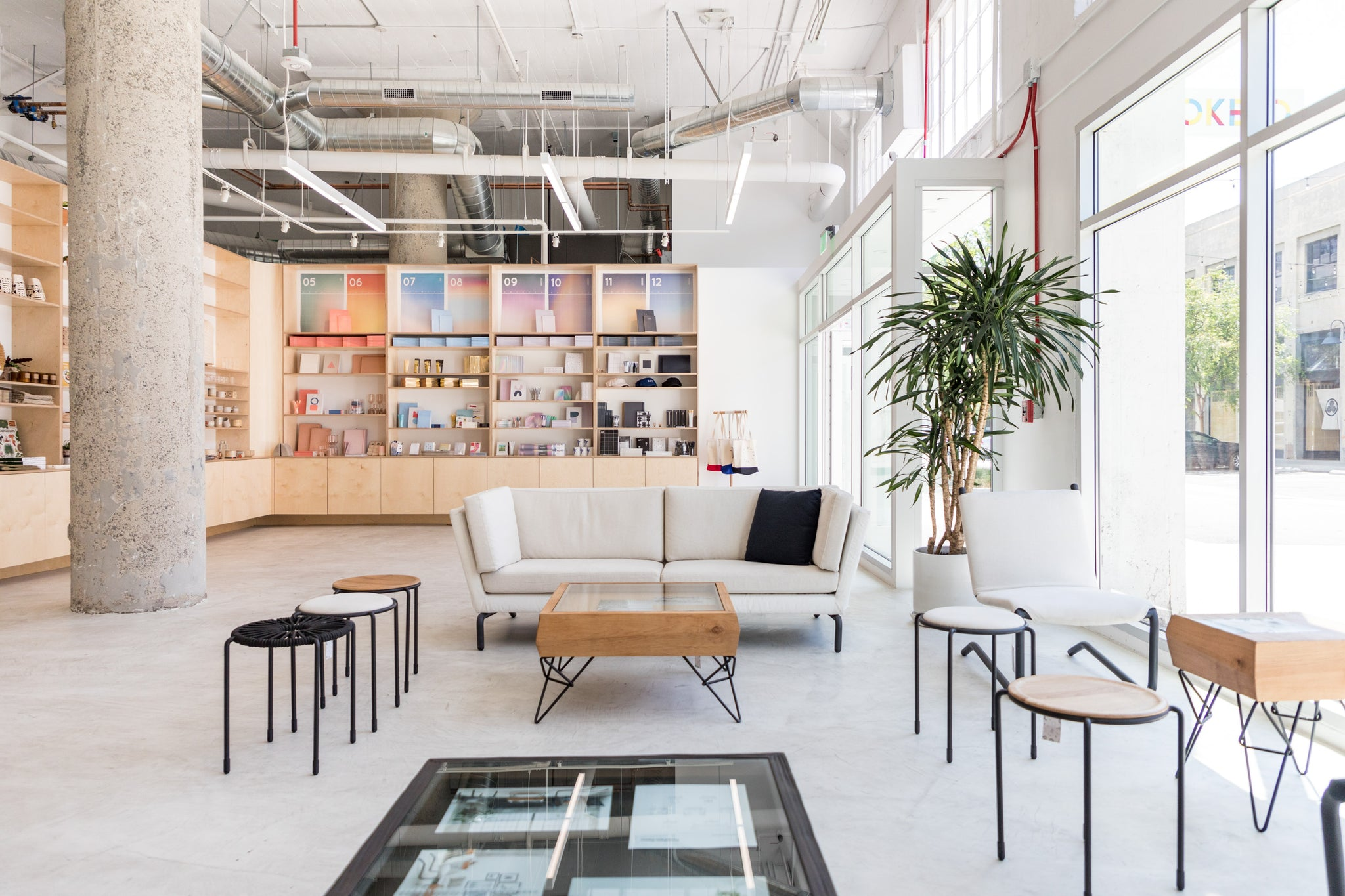 The Poketo Project Space @ ROW DTLA, one of four stores across LA.