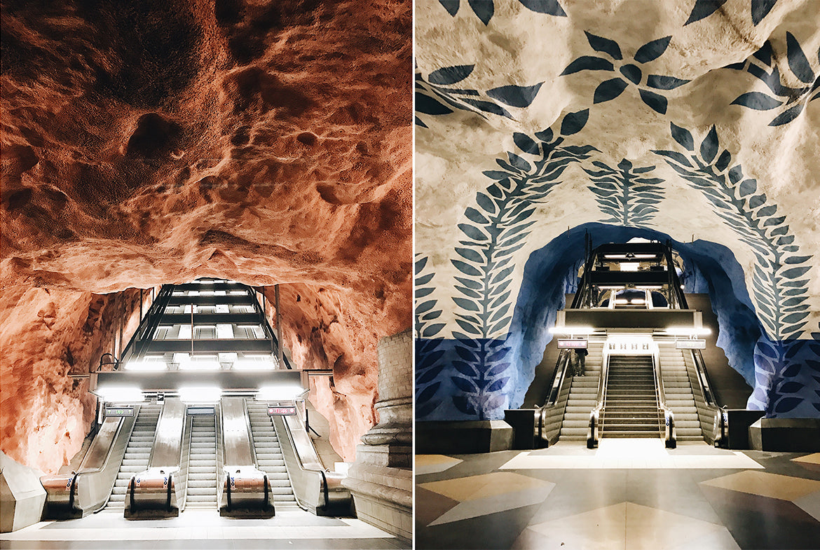 Sweden's Train Stations