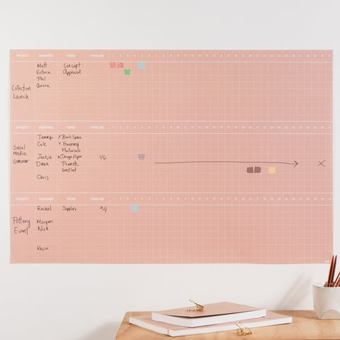 Poketo Project Wall Planner