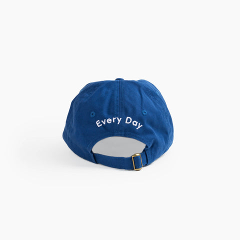 Art Every Day Cap in Cobalt back
