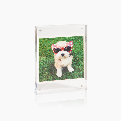 Acrylic Photo Frame in Large