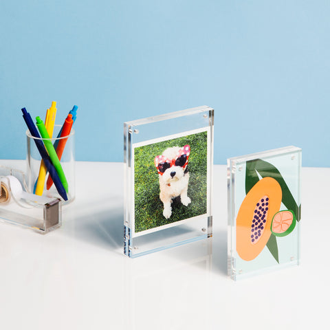 Acrylic Photo Frame in Small