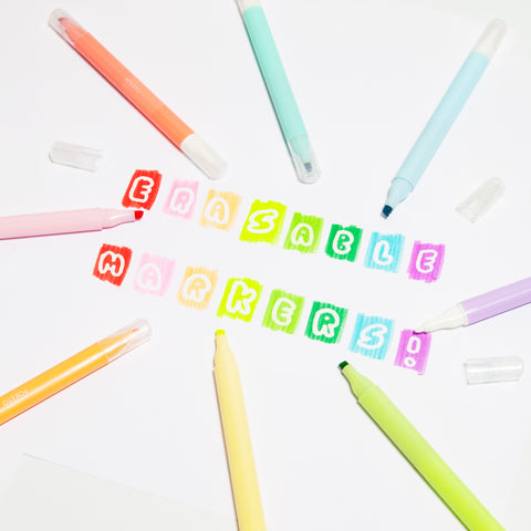 Aurora Erasable Markers Set