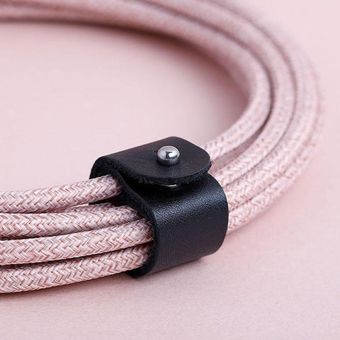 Second Sale Native Union Belt Cable XL in Rose and Cosmos