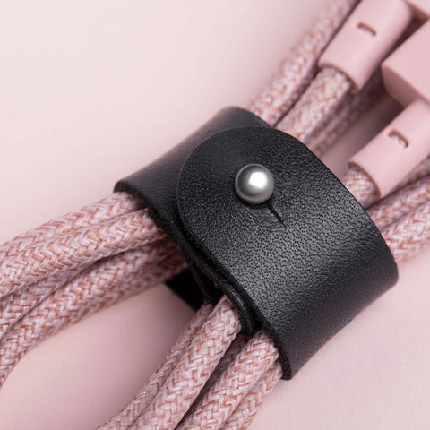 Native Union Belt Cable in Rose