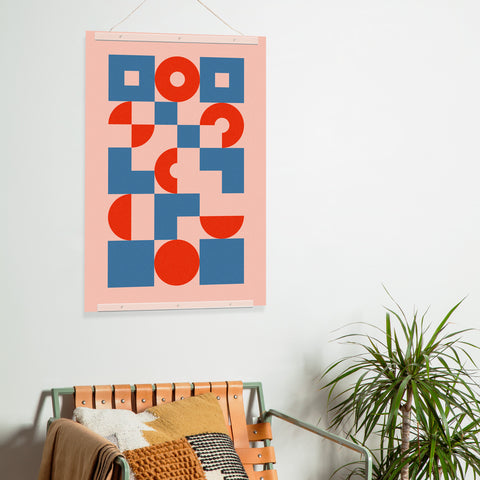 Bauhaus Poster Print by Poketo in Circles and Squares Lifestyle