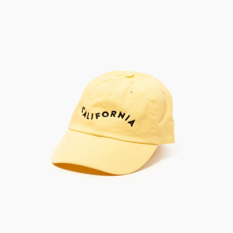 California Cap in Yellow