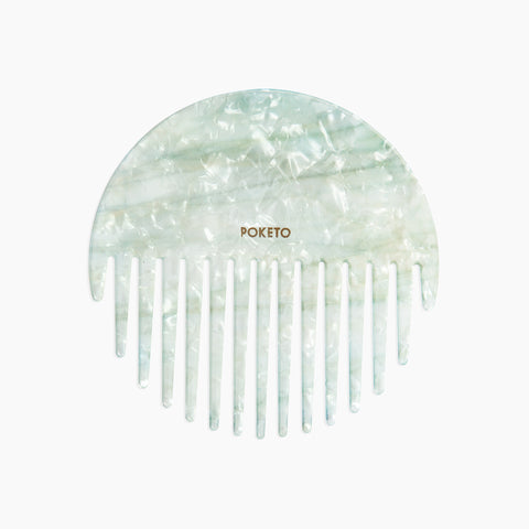 Circle Comb in Green Mint
