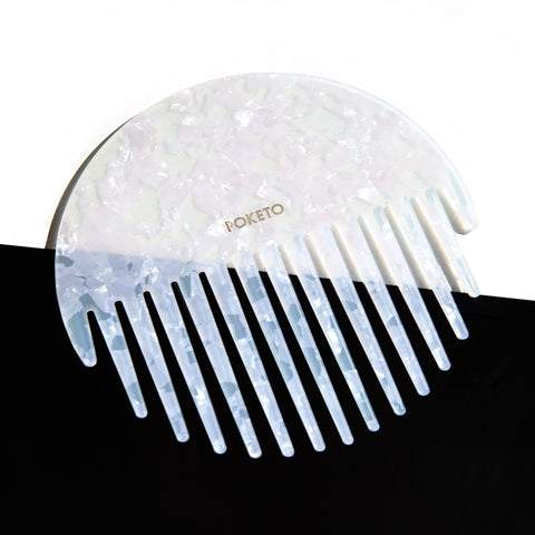 Circle Comb in Pearlescent