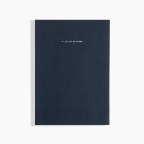 Concept Planner Midnight Blue