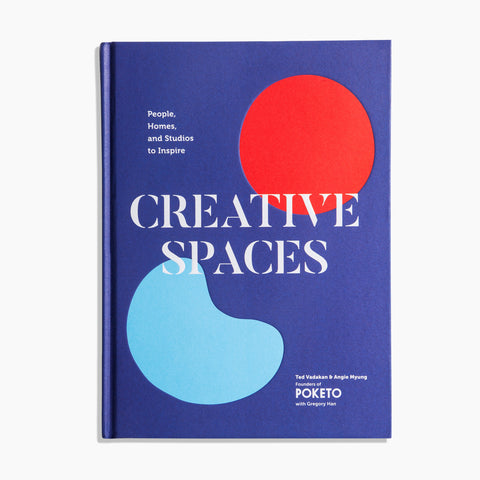 Creative Spaces Book Cover by Poketo