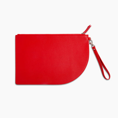 Curve Clutch in Red