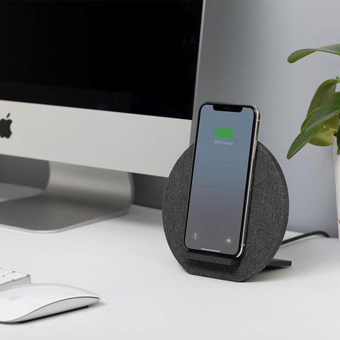 Native Union Dock Wireless Charger in Slate