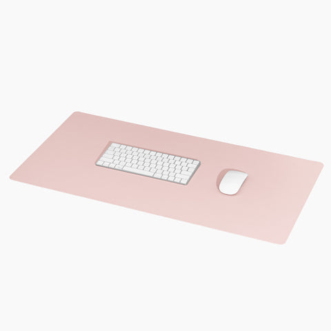 Minimalist Desk Mat in Blush