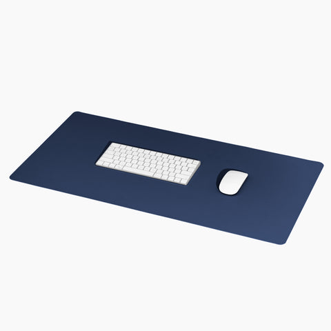 Minimalist Desk Mat in Navy