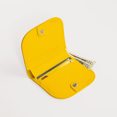 Dome Wallet in Yellow