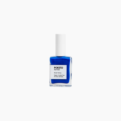 Poketo Nail Polish Ellsworth Blue