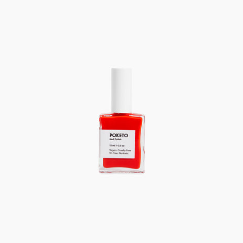 Poketo Nail Polish Ellsworth Red