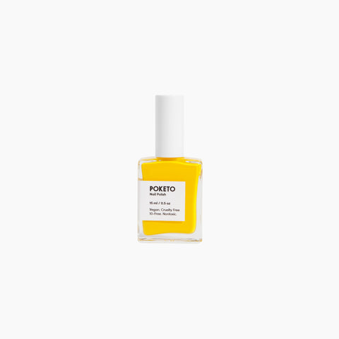 Poketo Nail Polish Ellsworth Yellow