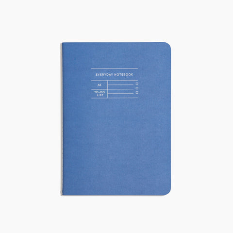 Everyday Notebook in To Do Blue Cover
