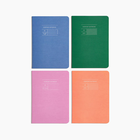 Everyday Notebook Set of 4