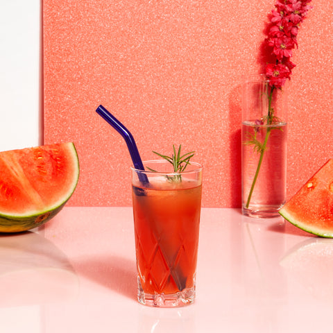Glass Straws in Cool Set