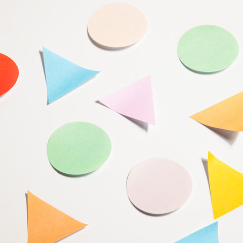 Geometric Stickies Sticky Notes