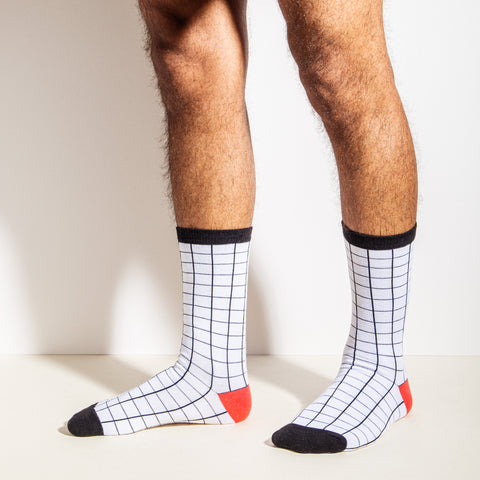 Crew Socks in Grid
