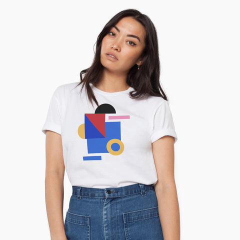 Poketo Kinetic Tee Female Model