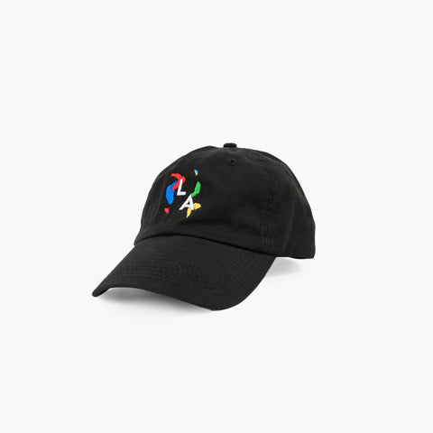 LA Abstract Cap in Black