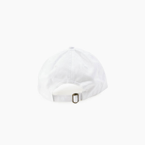 LA Abstract Cap in White