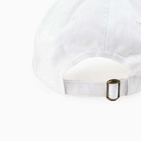 LA Abstract Cap in White back