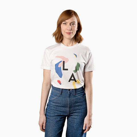Poketo LA Abstract Tee