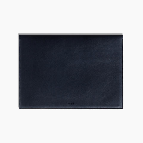 Large Minimalist Folio Navy 13