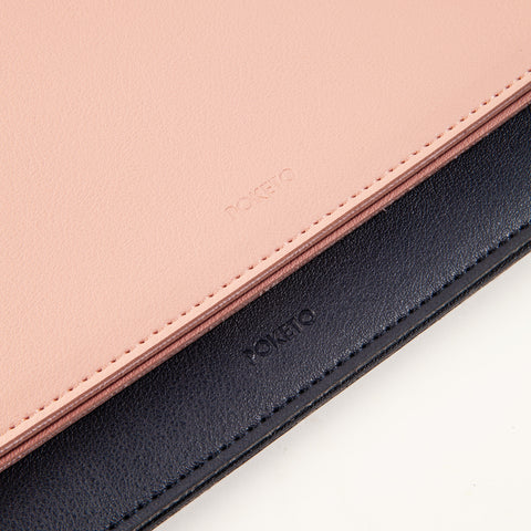 Large Minimalist Folio Blush 13