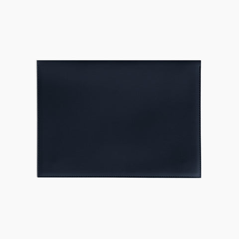 Large Minimalist Folio in Navy