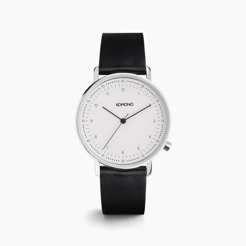 Komono Lewis Watch in Black