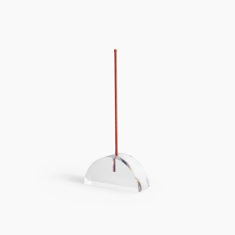Lucite Incense Holder in Arc