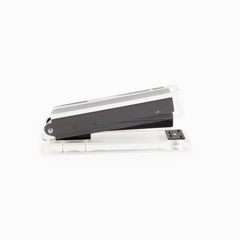 Lucite Stapler in Black